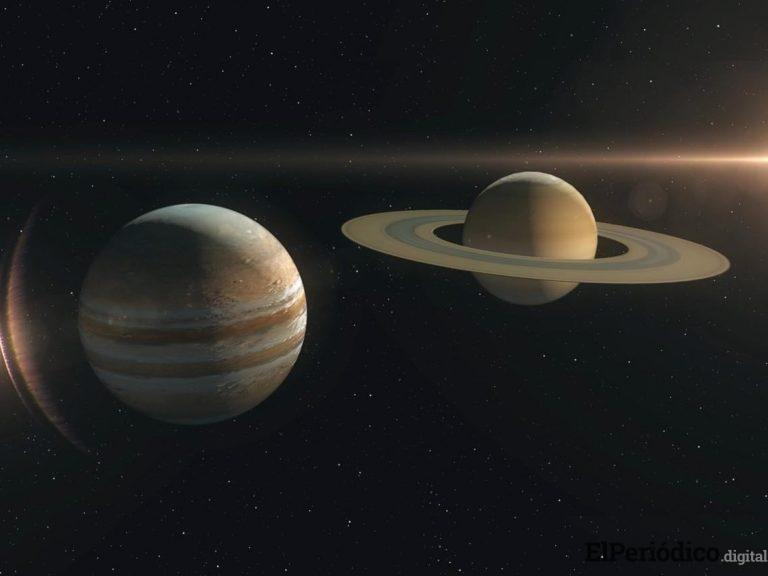 Este diciembre hara presencia un fenómeno astronómico entre Júpiter y Saturno, que no se repite desde la Edad Media