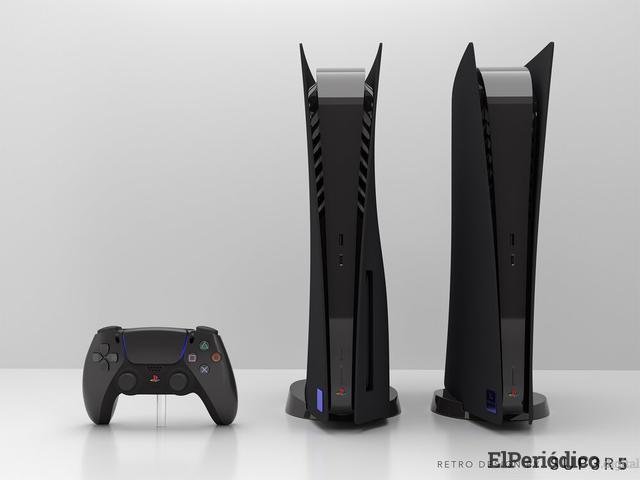PS5 de color negro se encuentra inspirada en PS2 y estará a la venta el 8 de enero