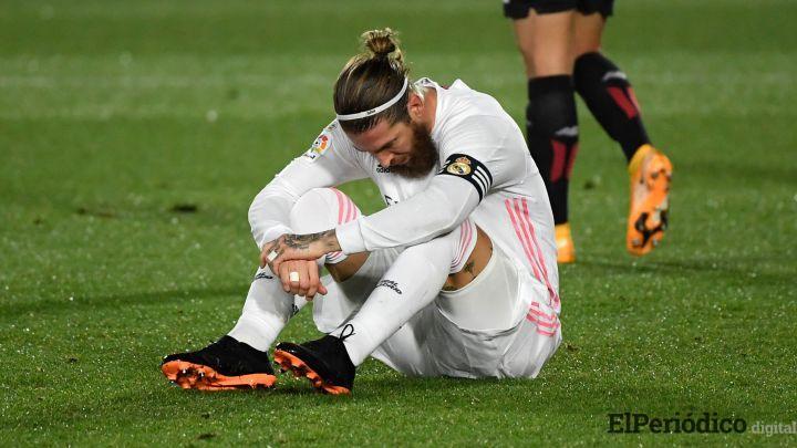 Real Madrid Sergio Ramos operado del menisco interno de su rodilla
