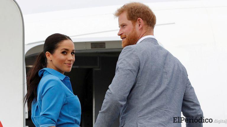 Ha sido comunicado por Enrique de Inglaterra y Meghan Markle, su adiós definitivo hacia la reina