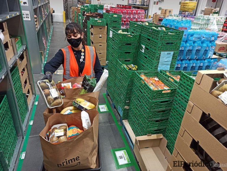 Amazon esta retando a las grandes cadenas de supermercados con el lanzamiento de Amazon Fresh