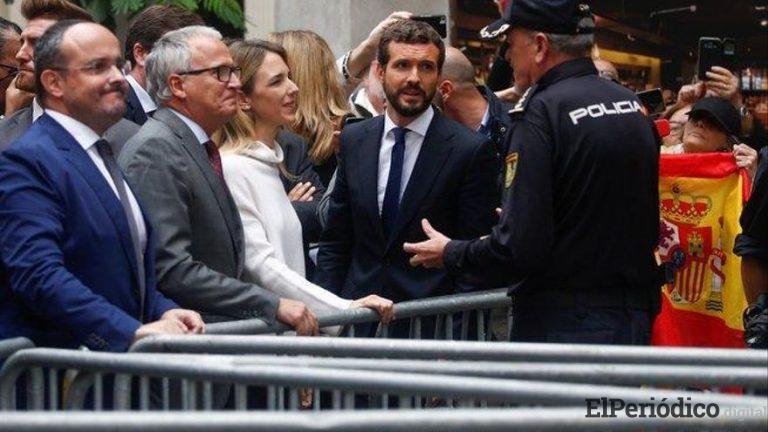 Casado culpa a los ministros que estan al frente el Primero de Mayo de ser los causantes de la crisis